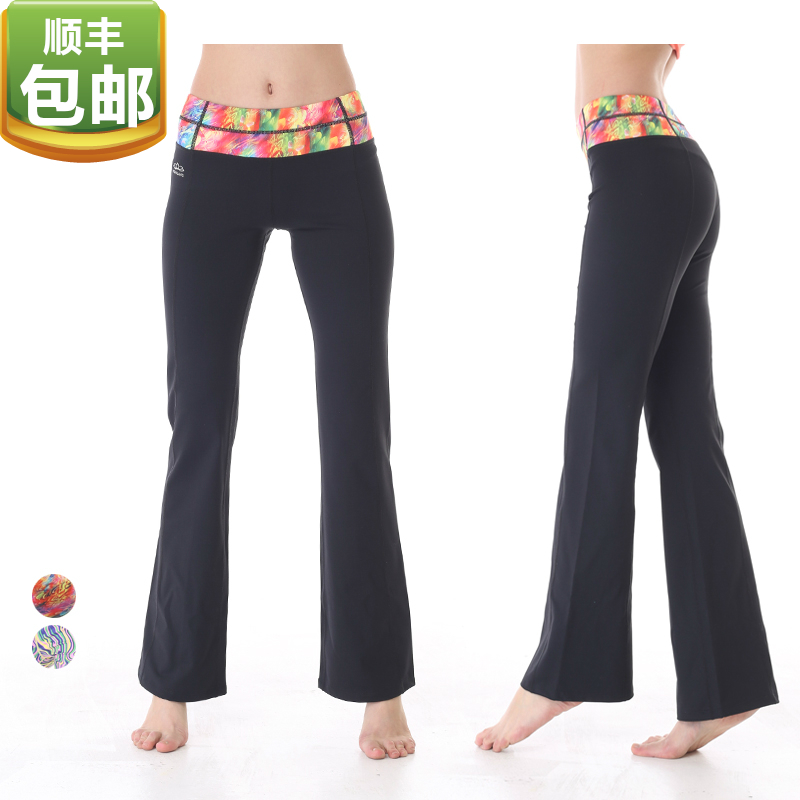 Genuine eukanuba lotus 2015 spring new ms. slim was thin weila pants yoga fitness dance yoga clothes RPW004
