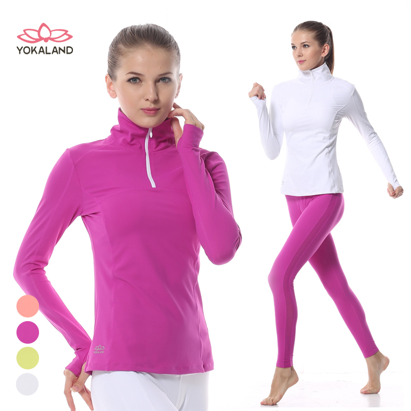 Genuine eukanuba lotus yoga clothes new winter coat ladies fashion sports and fitness jogging clothes coat vjw005