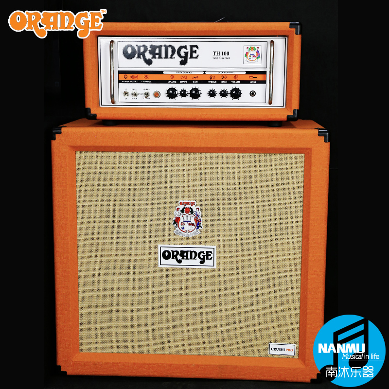 Genuine orange orange cr120/th100 PPC212 tube box head/412 subregional body electric guitar speaker speaker