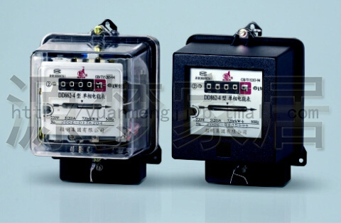 Genuine quality assurance specified export single phase energy meter dd282/ammeters 40-80a