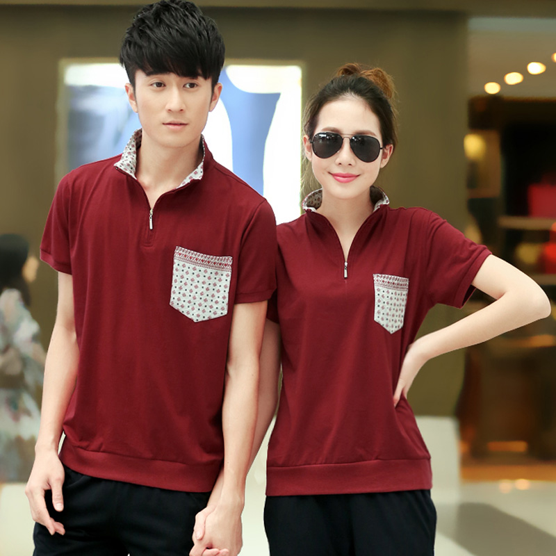 Genuine summer sports men and women t-shirt short sleeve loose big yards was thin minimalist sportswear casual clothes lovers
