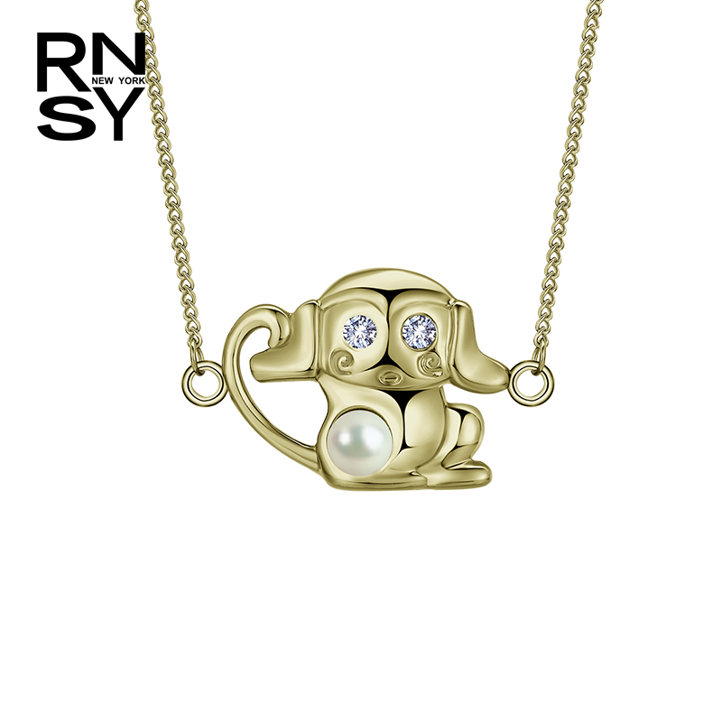 Genuine us rsny new retro twelve lunar new year of the monkey monkey transporter female jewelry pendant necklace gift