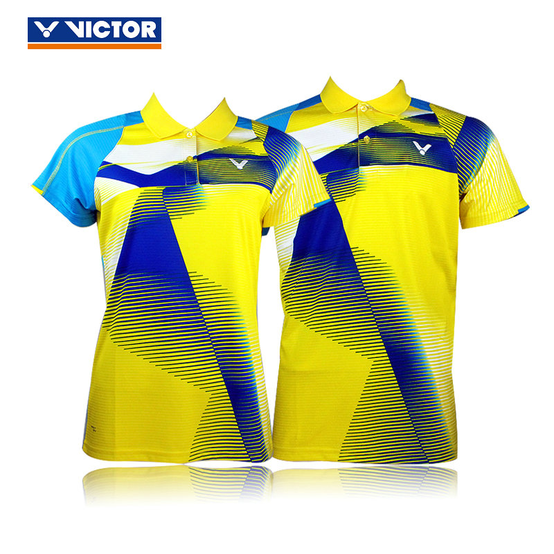 Genuine victory victor victor badminton clothing female models male models 6008/6108 tournament wicking breathable clothing