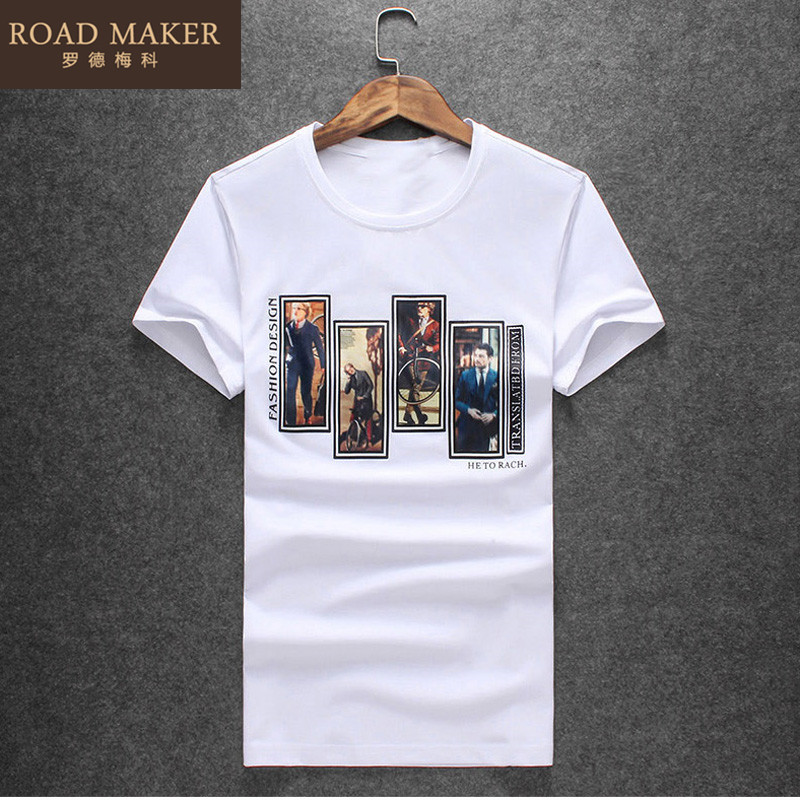 Germany 2016 meco rhodes shirt summer new men's urban fashion men's temperament