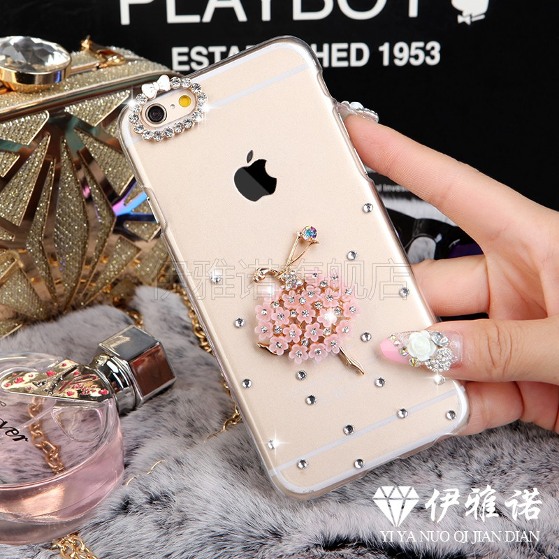 Gionee gn5001s s7 phone shell diamond female models hard shell drop resistance protective sleeve gn9006 postoperculum s7 gionee