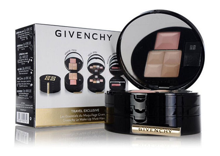 Givenchy/givenchy makeup palette eyeshadow + blush + trimming palette suits three portable portable