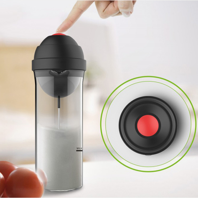 Glass coffee pot coffee pot household foamer electric milk foamer manual beat milk cup automatic mixing cup
