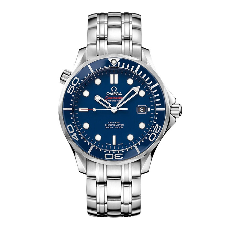 Global unpas 212.30.41.20.03.0 omega seamaster male watch mechanical watch men's waterproof watches 01