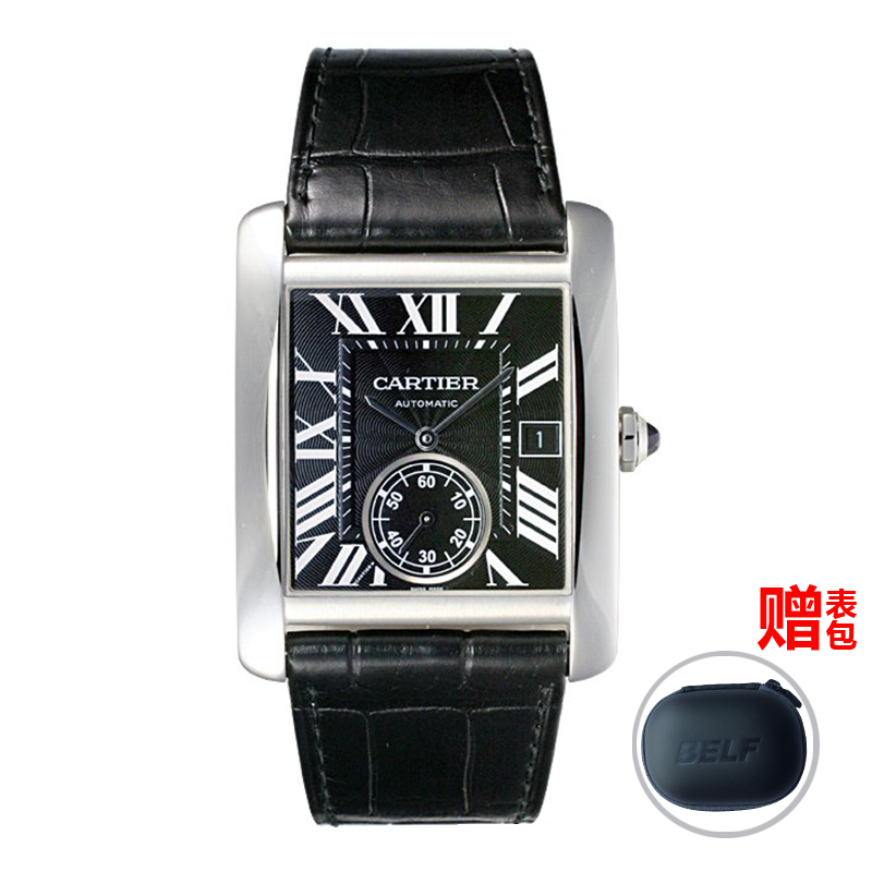 Global unpas cartier cartier tank series automatic mechanical male watch watches w5330004