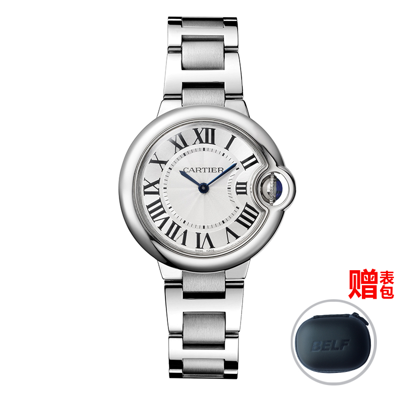 Global unpas cartier watches cartier blue balloon series quartz female watch w6920084
