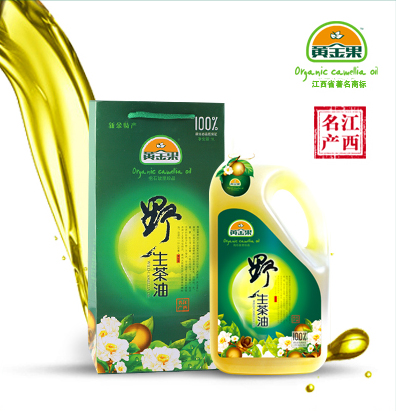Golden fruit of wild camellia tea oil 5l pure natural tea seed oil edible oil physical squeezing a gift box