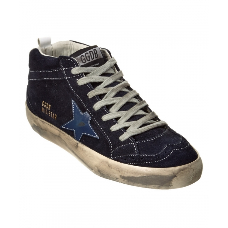 Golden goose Q02071843 soled shoes women shoes blue