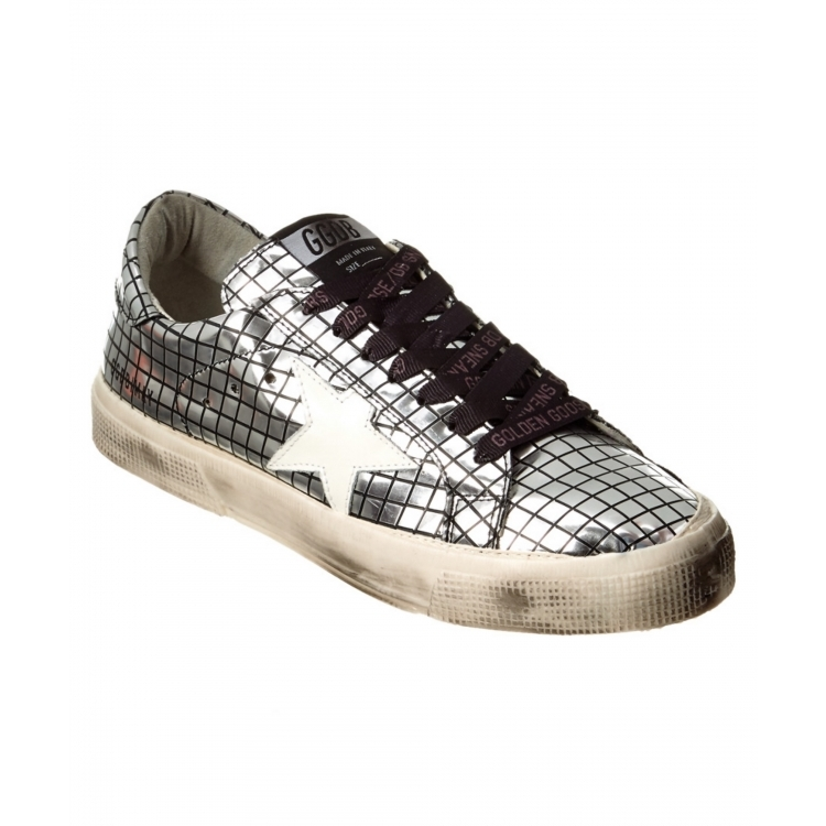 Golden goose women's shoes soled shoes Q02071070 metallic