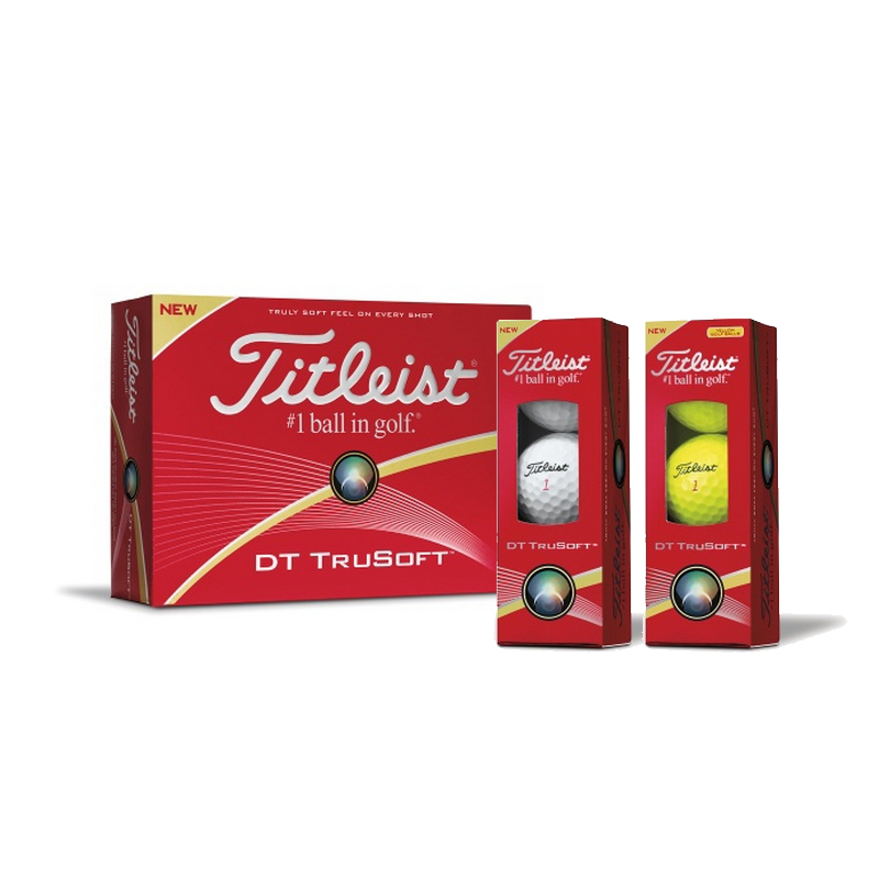 Golf titleist dt solo two layer ball distance double ball with the ball