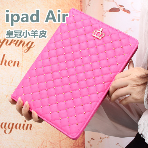 Gomi apple ipad5 drop resistance protective sleeve holster ipad air2 air1 woman with diamond 6 holster full edging shell