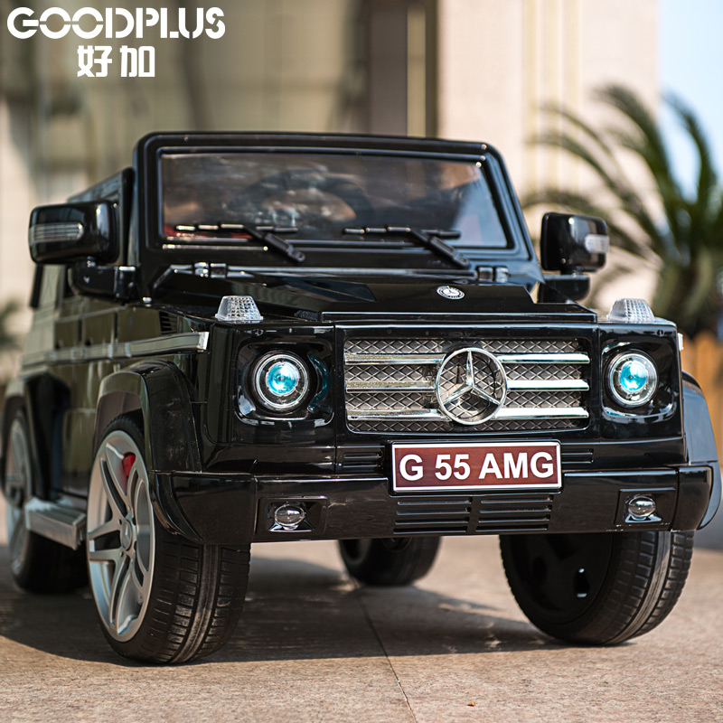Good plus benz four children electric car remote control car toy car children can sit four car baby buggy stroller