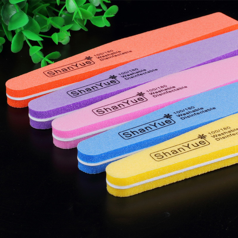 Good wyatt rubbing nail tools sided sponge sponge nail file strip polishing strip setback piece