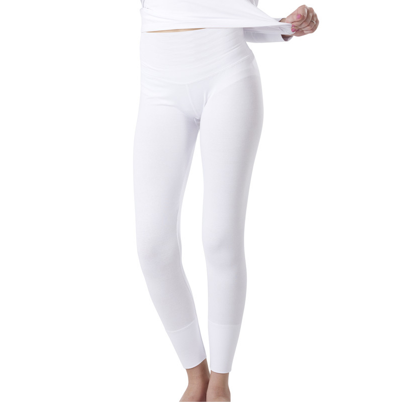 Gootuch guthrie ki female bamboo fiber waist and abdomen warm house warm pants bottoming warm body sculpting