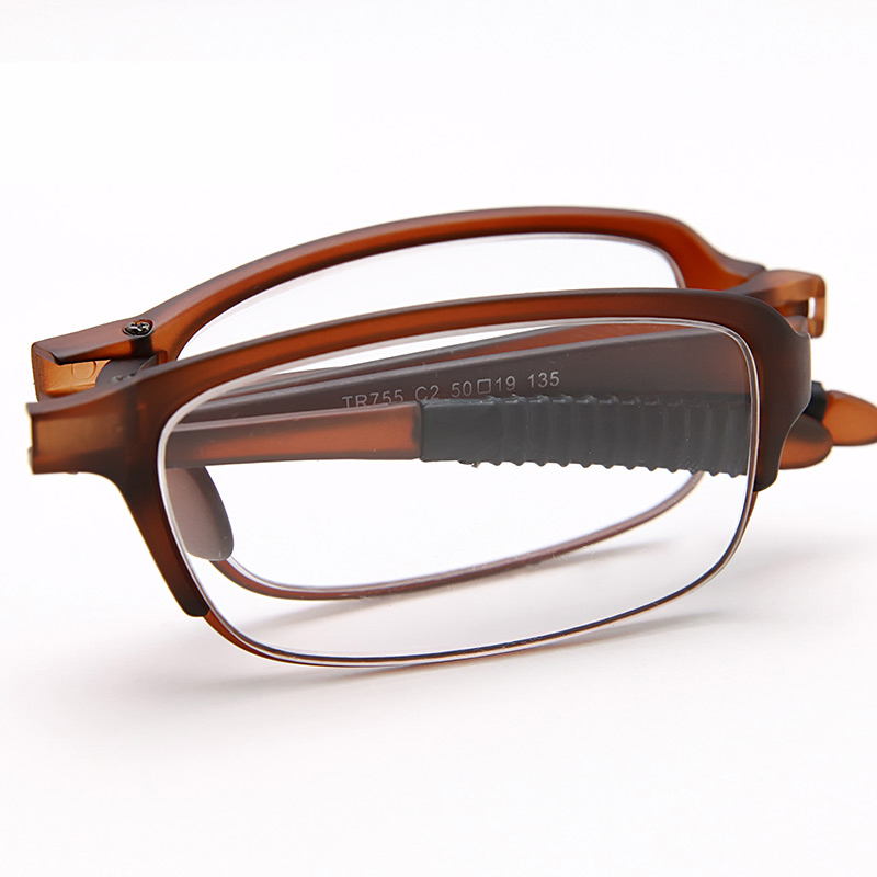 Grade resin fashion reading glasses lightweight portable folding reading glasses for men and women genuine reading glasses anti fatigue