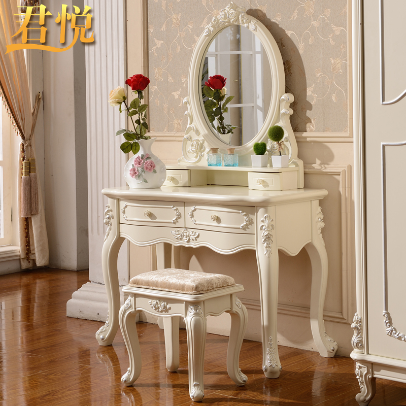 Grand hyatt furniture french dressing table dressing table european pastoral dresser dresser bedroom dresser dressing cabinet small apartment studio dressing table