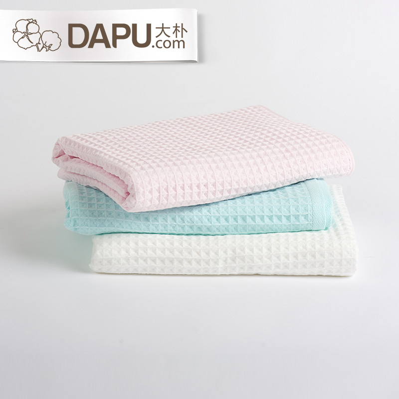 Grand park single/four loaded waffle hollow yarn cotton towel cleansing towel travel essential travel Can not afford to mao
