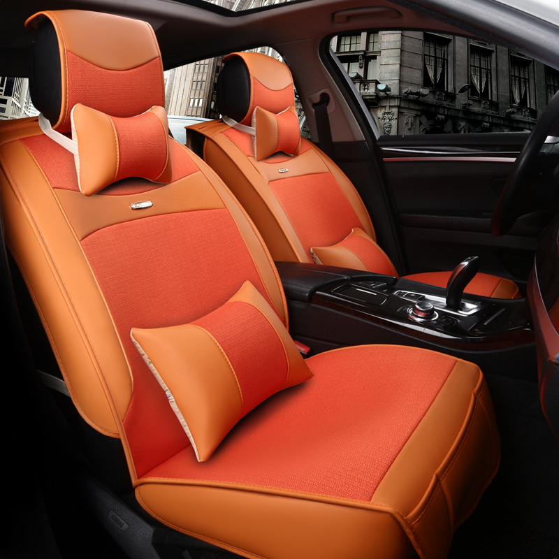 Guangqi legend gs-4 thehigh legend gs5 seat cushion pad four seasons leather car seat guangzhou automobile chi chuan GA3A/ga5/ga6