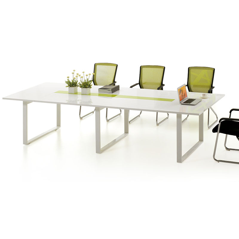 Guangzhou office furniture training tables reception desk office table desk long table desk simple large conference table