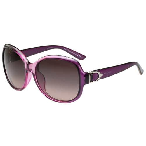 301fbf8bd1a Get Quotations · Gucci-buckle series sunglasses (gradient purple) payeasy  official website direct mail