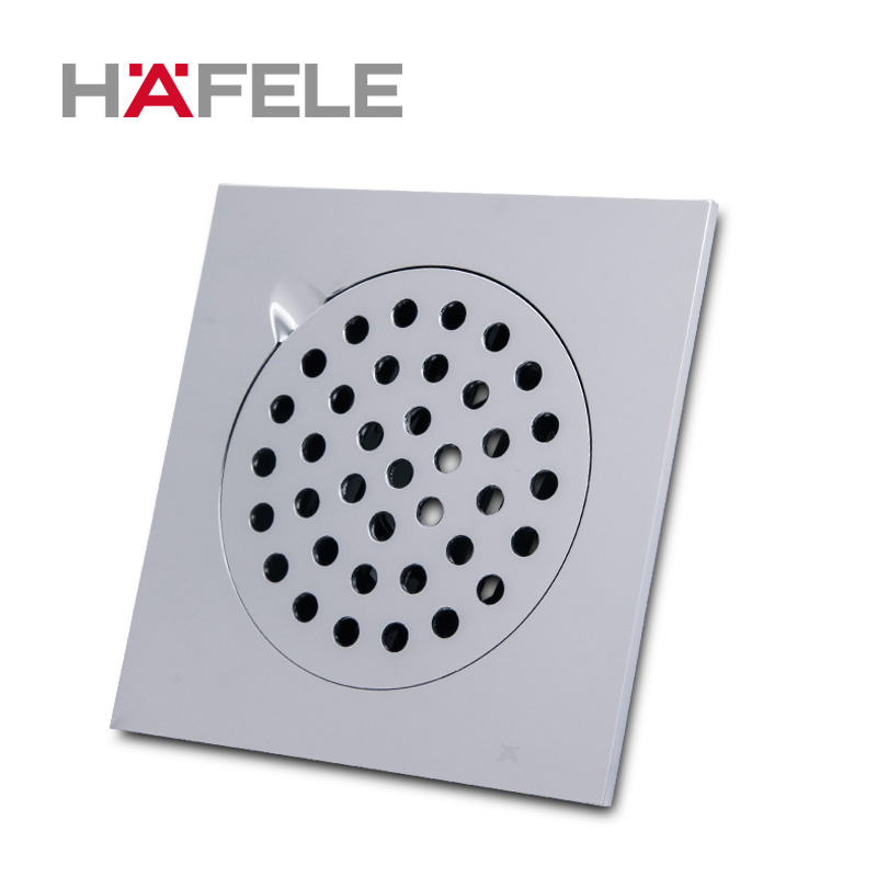 Hafele copper chrome light square full of copper bathroom suite bathroom floor drain floor drain odor 50 tube