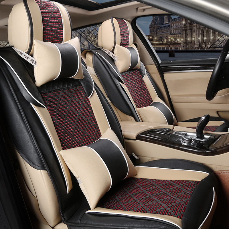 Hainan mazda 323 familia m5s5 haifuxing m3/s7 seasons leather car seat cover leather cushion sets new