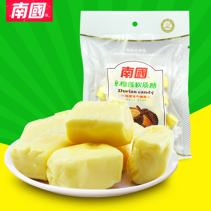 Hainan specialty food southland durian sugar 150g fruit flavor fragrant soft sugar candy snack candy