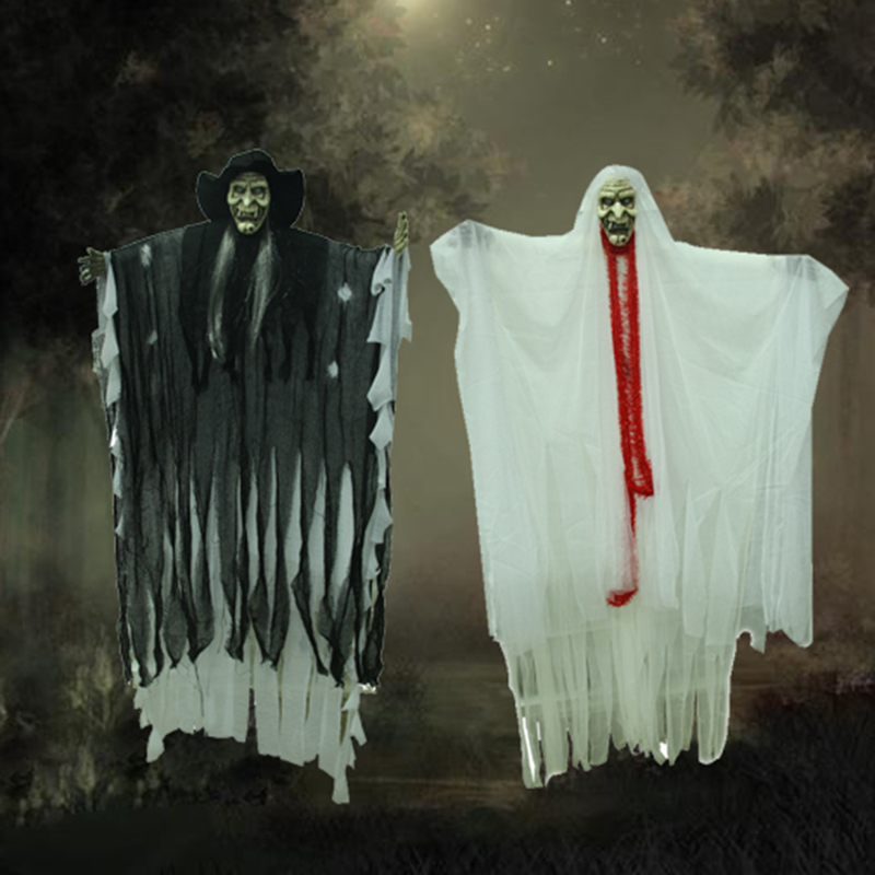 Halloween decorations halloween props decorations props scary haunted house decoration hanging ghost ghost ghost ghost ghost bride and groom