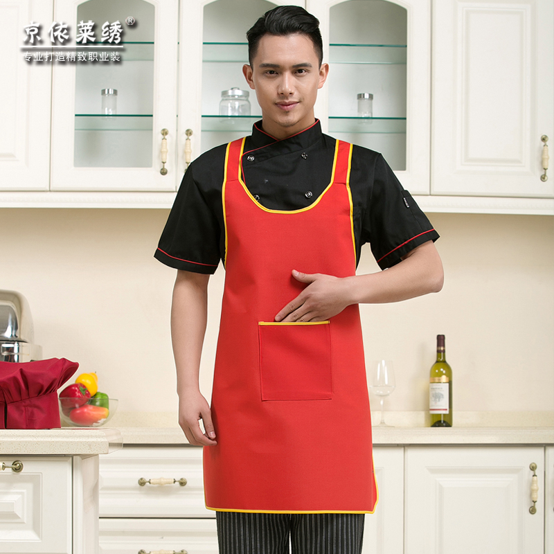 Halter apron chef aprons aprons overalls hotel restaurant waiter aprons aprons aprons antifouling kitchen accessories