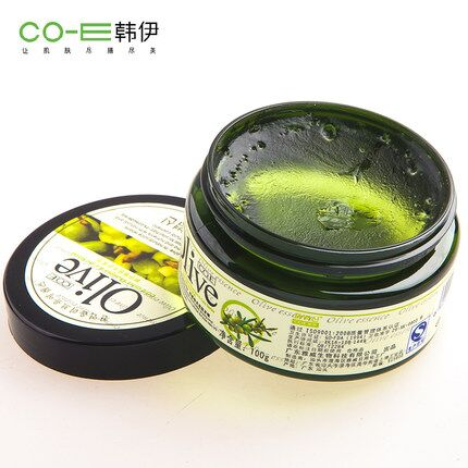 Han yi olive dynamic modeling wax 100g strong stereotypes fluffy hair curls hair cream hair mud men women