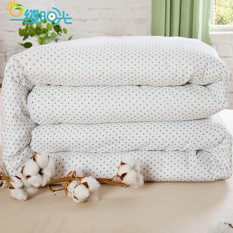 Handmade cotton is long staple cotton quilts cotton mattress single double thick winter is spring is the core cotton children