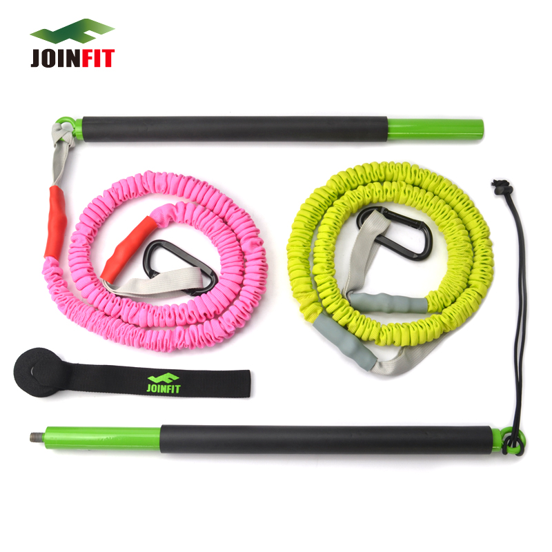 Hanging new/with rod/multifunction elastic training stick/fitness bar elastic rope/pull force With/strength training