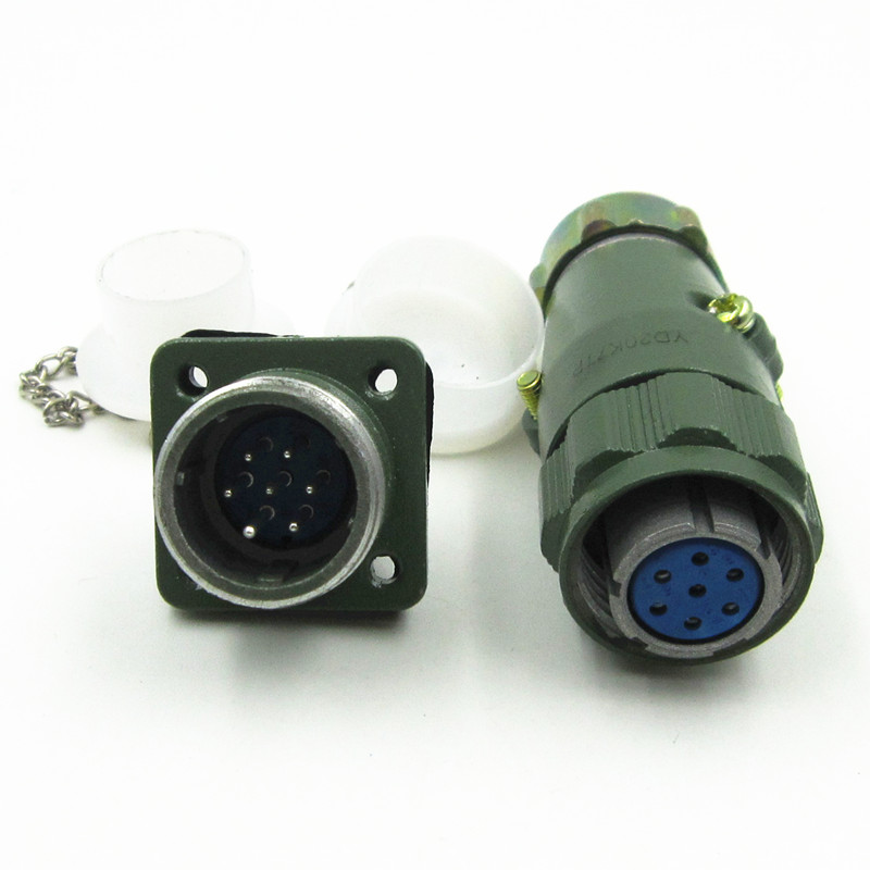 Haogncn yd204 5 core aviation plug and socket waterproof circular connectors yd20k5tp