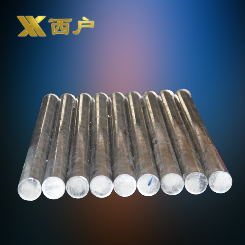 Hardening heat treatment of aluminum solid aluminum rod rod rod 6061/6063/7075 complete specifications polished surface of any cut