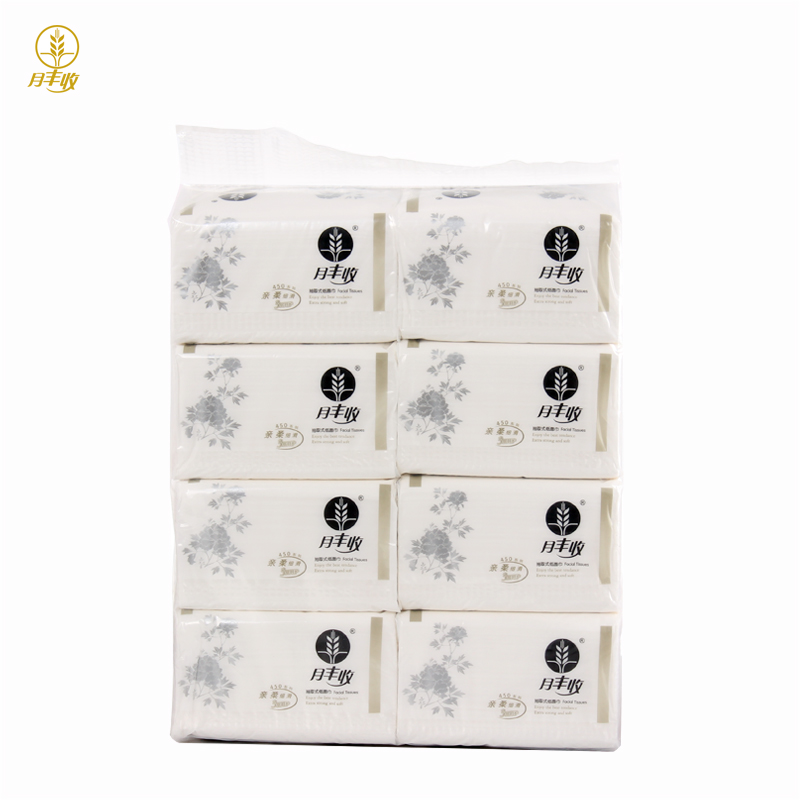 Harvest moon 450 series 381 removable facial tissue paper towel tissue paper 8/mention silver dress