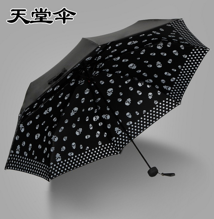 Heaven umbrella monopoly super uv sunscreen parasol umbrella creative black umbrella parasol umbrella