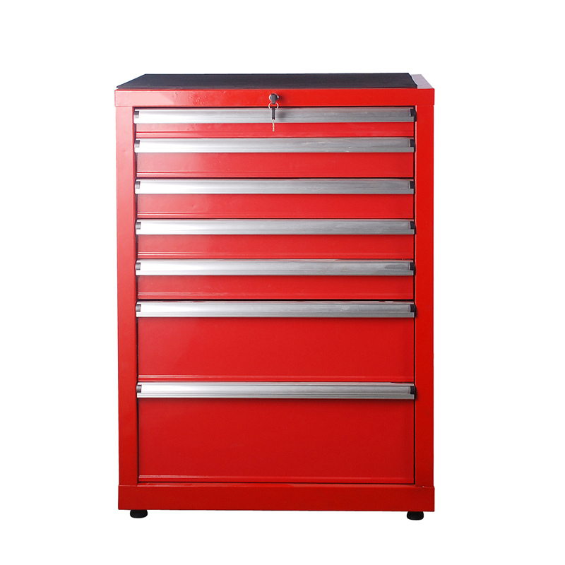 Heavy mobile tool cabinet tool cabinet combination of seven layer metal tool cabinet drawer tool cabinet tool cabinet