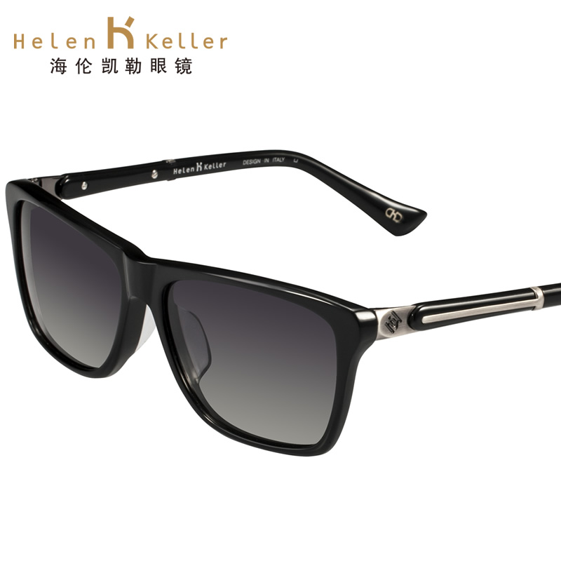 ee7a7be560e Get Quotations · Helen keller sunglasses female models can be equipped with sunglasses  polarized sunglasses female big box retro