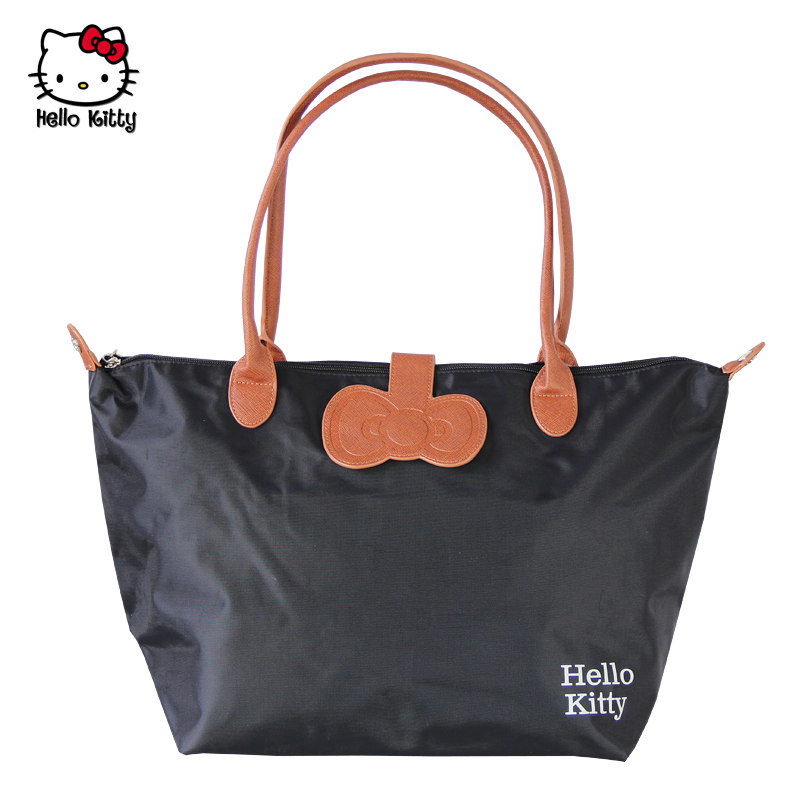 Hello kitty/hello kitty folding nylon bag mummy bag handbag shoulder bag shopping bag female bag