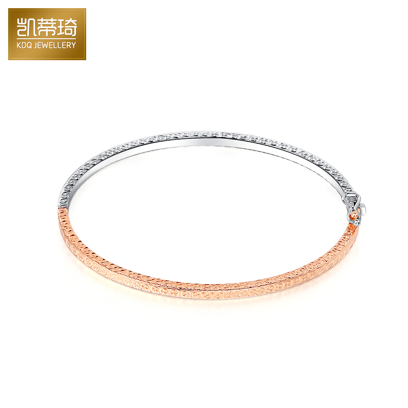 Hello kitty kay jewelry k gold platinum rose gold color gold bracelet bracelet royal bracelet bracelet female fashion models