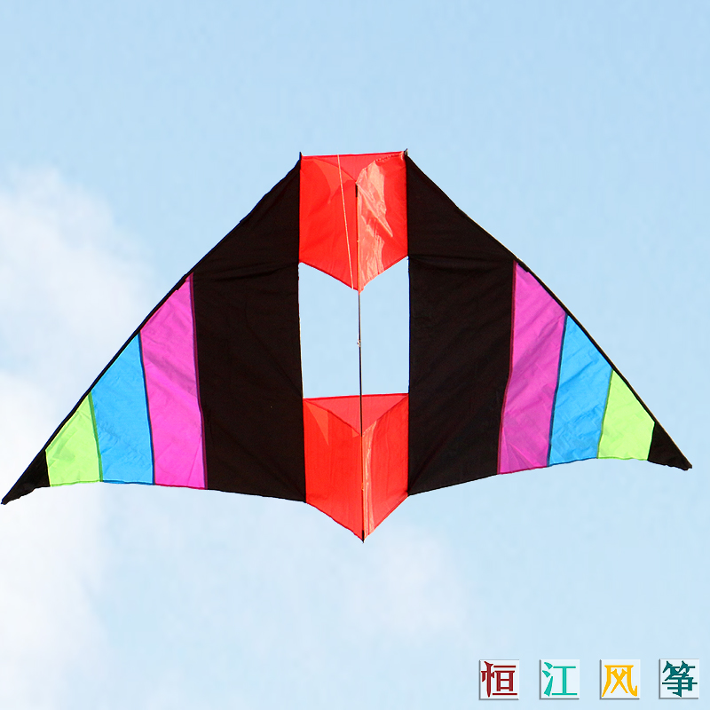 Heng jiang weifang kite stereoscopic three-dimensional kite rainbow rainbow kite kite kite easy to fly special offer