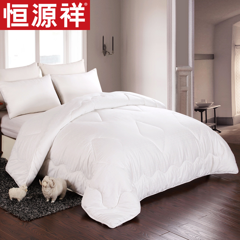 Heng yuan xiang textile anion tied wool silk quilt is cotton quilt is the core winter is thick bedding