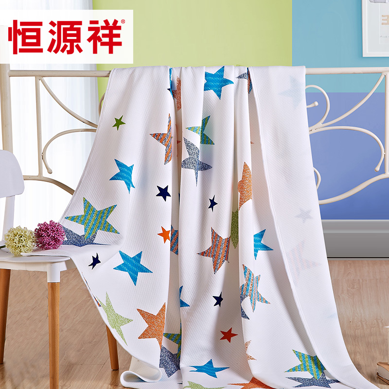 Heng yuan xiang textile cotton summer was cooler air conditioning quilt cotton knit tianzhu cotton summer children are core washable