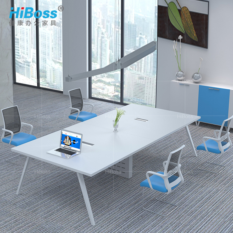 [Hiboss] office furniture plate conference table long table training tables long table meeting table negotiating table