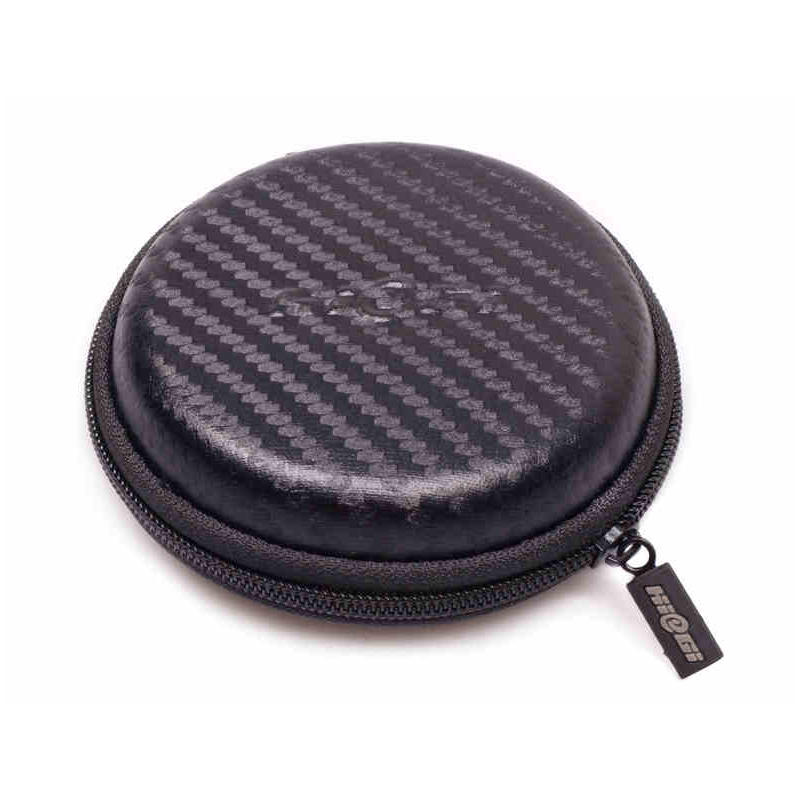 Hiegi sea czech earbud headphones pack a small pack headphone headphone headphone box storage box circular headphone storage box