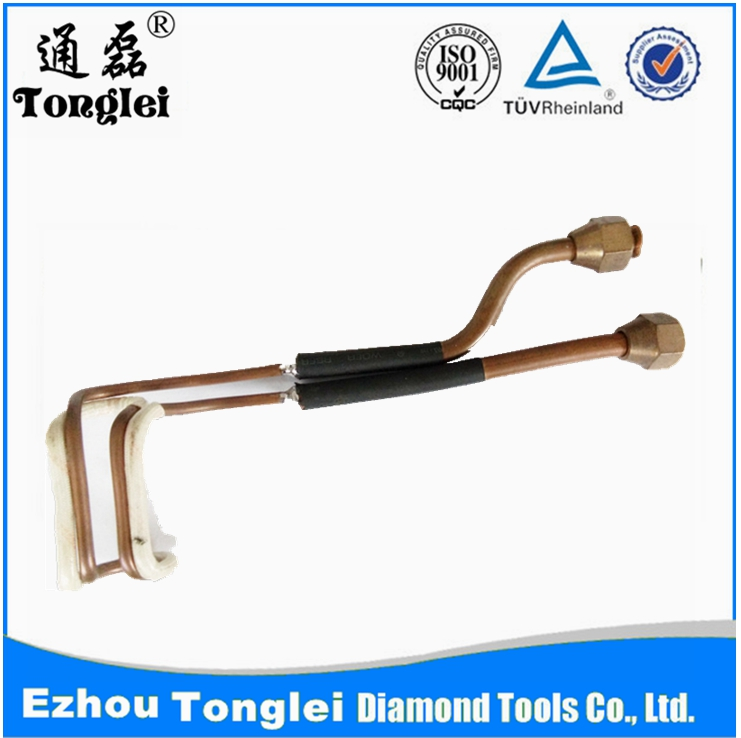 High frequency induction welding head induction loop/drill induction loop/induction loop tools/welding head heating tube